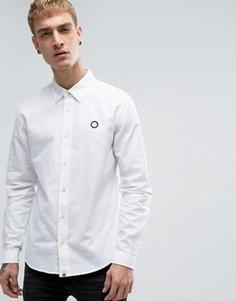 Белая оксфордская рубашка Pretty Green - Белый