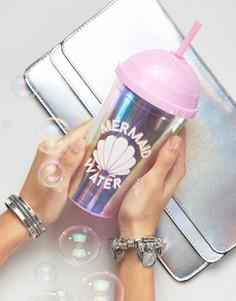 Чашка переливающегося оттенка Mermaid New Look - Розовый
