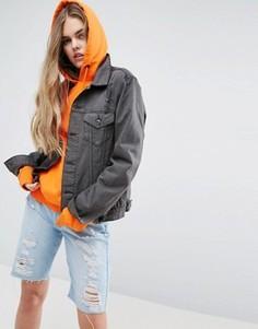 Джинсовая куртка Criminal Damage Kenikie - Черный