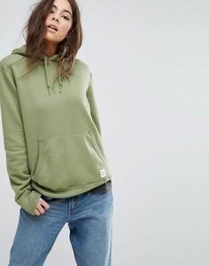 Худи цвета хаки Converse Premium Essentials - Зеленый