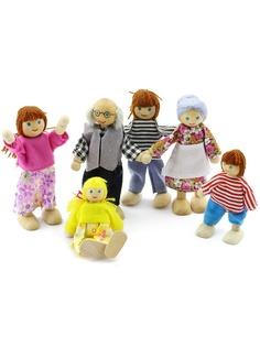 Куклы Игрушки из дерева