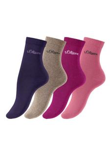 Носки, 4 пары s.Oliver