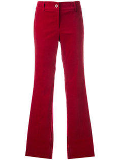 расклешенные брюки с полосками по бокам Michael Kors