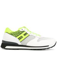 кроссовки с контрастными панелями Hogan Rebel