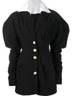 платье мини с объемными рукавами Jacquemus