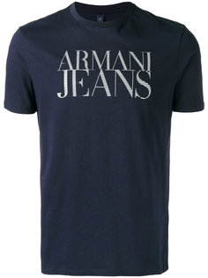 базовая футболка Armani Jeans