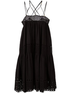 платье с лямками крест-накрест Plein Sud