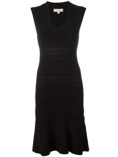 платье с V-образным вырезом Michael Kors