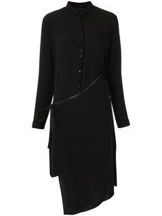 silk asymmetric dress Uma   Raquel Davidowicz
