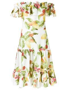 printed dress Isolda