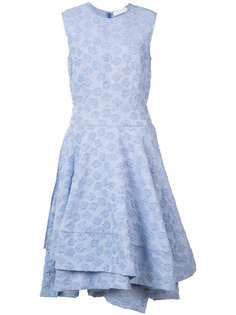 embroidered flared dress Co
