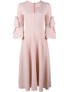 декорированное платье с бантами Sibella  Roksanda