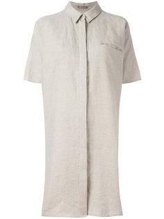 платье-рубашка с открытой спиной Nehera