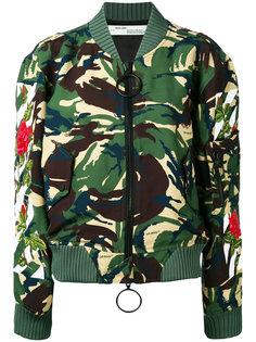 камуфляжная куртка бомбер Off-White