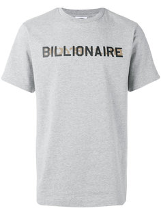 футболка с логотипом Billionaire Boys Club