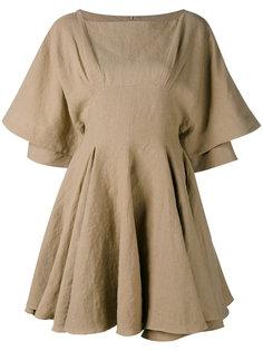 платье с плиссировкой J.W.Anderson