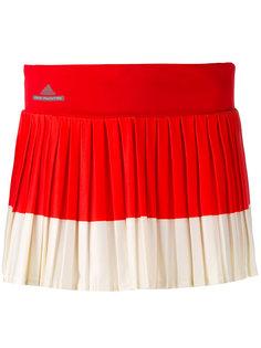 плиссированная юбка с контрастными панелями Adidas By Stella Mccartney