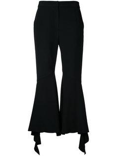 расклешенные брюки с оборками Goen.J