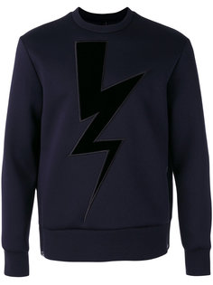 Lightning Bolt sweatshirt Neil Barrett