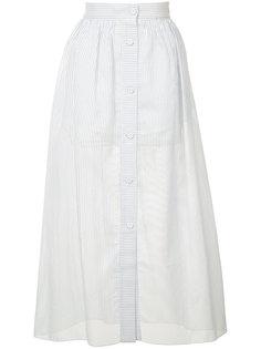 striped A-line skirt Vilshenko