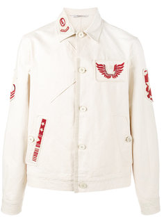 полевая куртка с нашивками Valentino