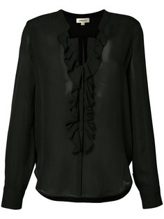 блузка с рюшами Lagence