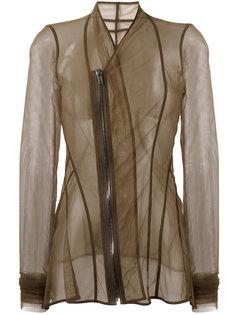 mesh long sleeved jacket Rick Owens Lilies