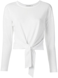 knot detail blouse Giuliana Romanno