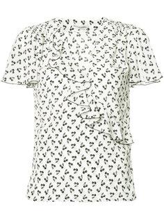 El Dorado cherry-print blouse Altuzarra