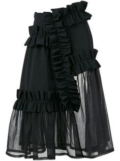 прозрачная юбка Paskal