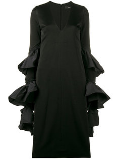 платье с оборками на рукавах Molotov Ellery