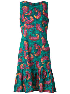 abstract print sleeveless dress Isolda