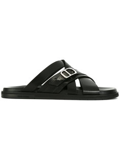 cross strap sandals  Dior Homme