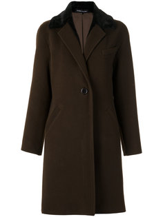 wool trench coat Gloria Coelho