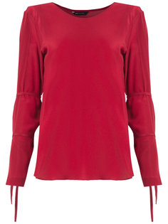 lace up detail blouse Uma | Raquel Davidowicz