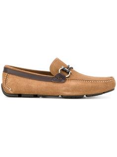 cord buckle loafers Salvatore Ferragamo