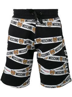 спортивные шорты с отделкой Bear Moschino