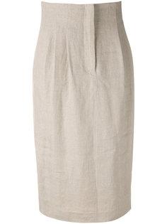 юбка с завышенной талией Max Mara
