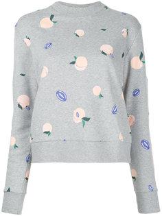 peaches print sweatshirt Être Cécile