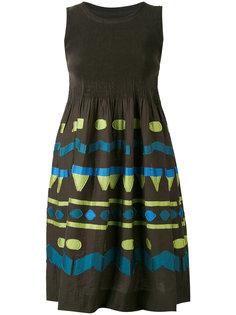 платье с этническим узором Issey Miyake Cauliflower