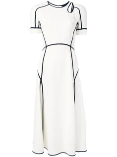 платье с контрастной отделкой  Alexander Wang