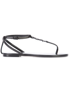сандалии Monogram Saint Laurent