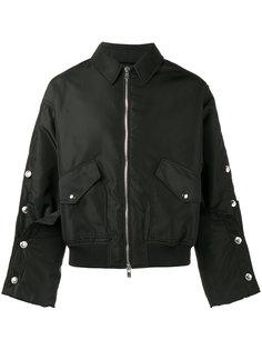 летная куртка с декоративными пуговицами Y / Project