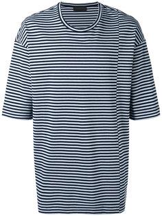 Taitan Stripe T-shirt Diesel Black Gold
