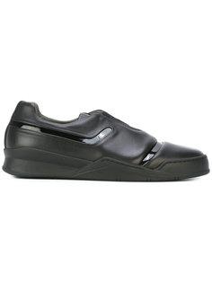 кроссовки с лакированными вставкам Last Sole