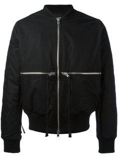 куртка-бомбер Time & 1 World Stampd