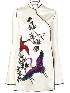 платье-кимоно Elena с рисунком   Attico
