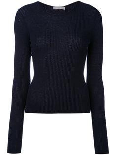 укороченный свитер в рубчик  Vince