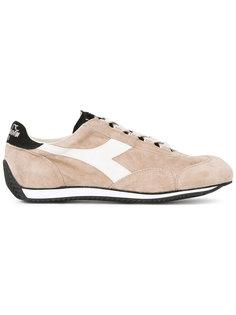 кроссовки с панельным дизайном и шнуровкой Diadora