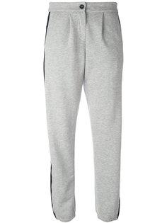 спортивные брюки с полосками Twin-Set